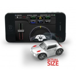 Micro Car with iPhone